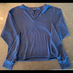 Brandy Melville Long Sleeve Crop Top